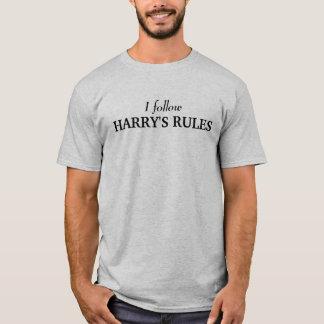 I follow HARRY'S RULES T-Shirt