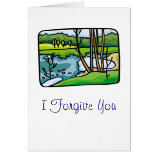 I Forgive You Card
