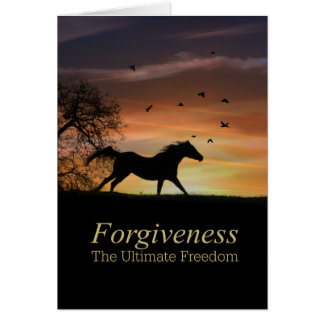 I Forgive You Card, All Is  Forgiven Card