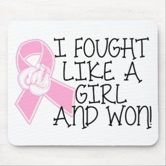 I Fought Like A Girl- BCA Mouse Pad