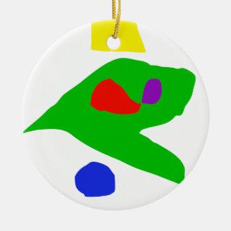 I Found Ceramic Ornament