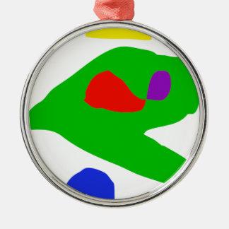 I Found Metal Ornament