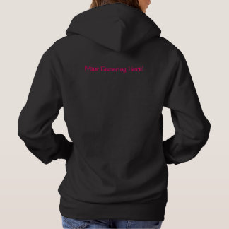 I Game Therefore I AM Pink Your Gamertag Hoodie
