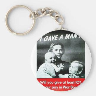 I Gave A Man Key Chains