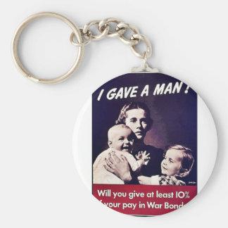 I Gave A Man! Keychains