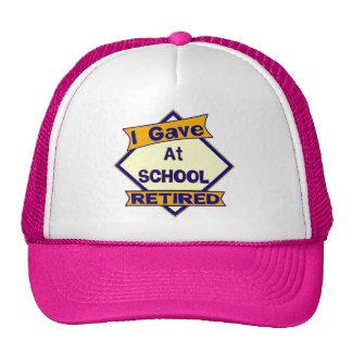 I Gave At School Trucker Hat