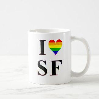 I Gay Heart San Francisco Coffee Mug