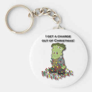 I get a charge out of Christmas Keychains