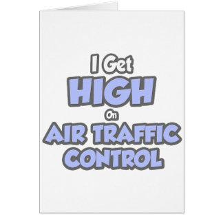 I Get High On Air Traffic Control Card