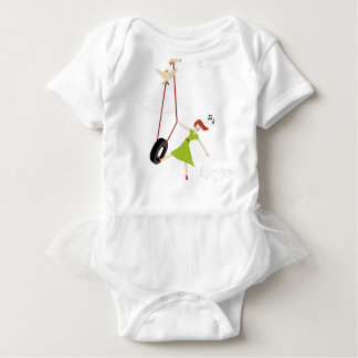 I Get High With a Little Help From My Friends Baby Bodysuit