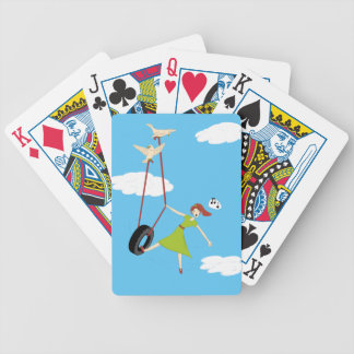 I Get High With a Little Help From My Friends Bicycle Playing Cards