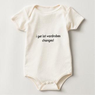 i get lot wardrobes changes! baby bodysuit