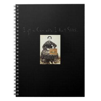"""""""I get so Cross.."""" notebook from Notforgotten Farm"""