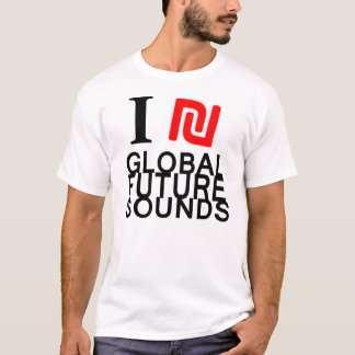 I ₪ Global Futuresounds T-Shirt