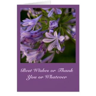 I Go Purple - Card