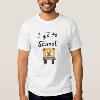 I Go To School T Shirts