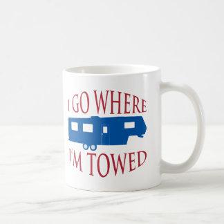 I Go Where I'm Towed Mug