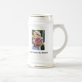 I Got Boned By Richard, HitherDithera... 18 Oz Beer Stein