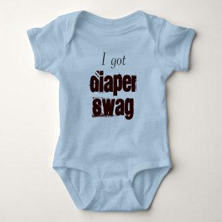 I got Diaper Swag Baby Bodysuit