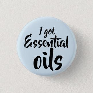 i got essential oils 1 inch round button