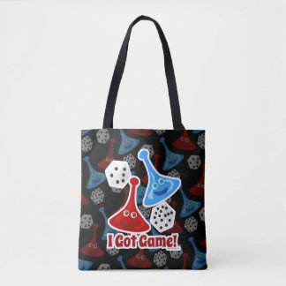 I Got Game Epic Board Gamer Design Tote Bag