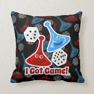 I Got Game Epic Tabletop Gamer Design Throw Pillow