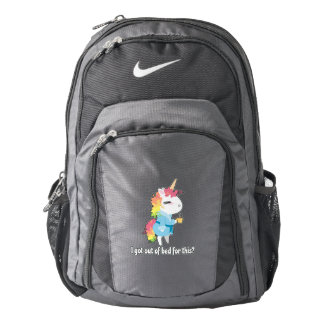 I got out of bed for this? Snarkles the Unicorn Backpack