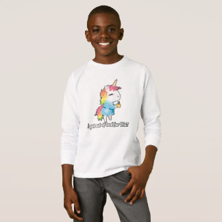 I got out of bed for this? Snarkles the Unicorn T-Shirt