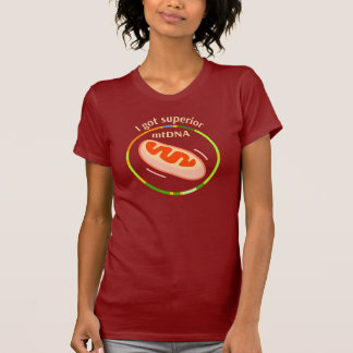 I got superior mtDNA T-Shirt
