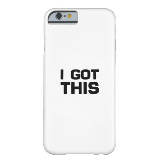 I got This  for Cancer, Disease Awareness Barely There iPhone 6 Case