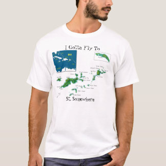 I Gotta Fly To St. Somewhere T-Shirt