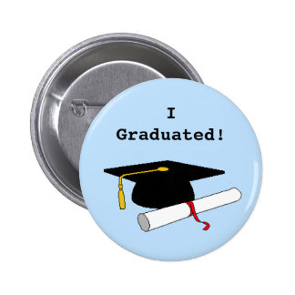 I Graduated! Button