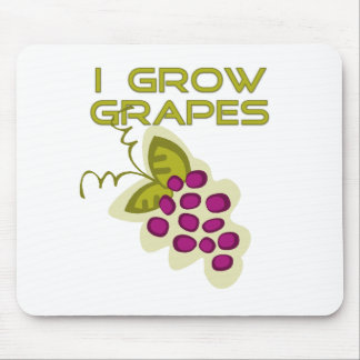 I Grow Grapes Tshirts and Gifts Mouse Pad