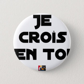I grow in You - Word games - François Ville 2 Inch Round Button