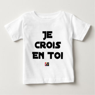 I grow in You - Word games - François Ville Baby T-Shirt