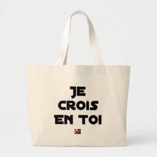 I grow in You - Word games - François Ville Large Tote Bag