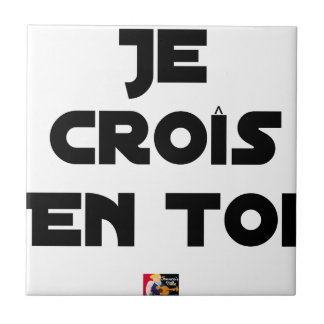 I grow in You - Word games - François Ville Tile