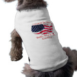 I Guard the House, Daddy Guards the C... Pet T-shirt