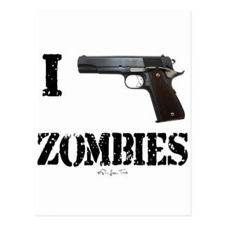 I Gun Zombies 2 Postcard