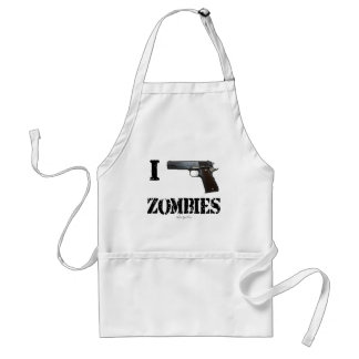 I Gun Zombies 2 Standard Apron