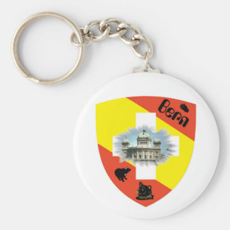 I ha of Bärn gärn key supporters Keychain