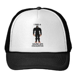 I HAD A SKUNK APE ENCOUNTER MESH HATS