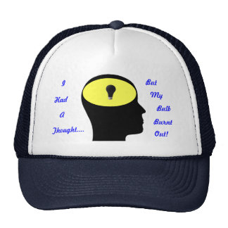 I had a thought.. trucker hat