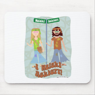 I Haight Ashbury Mouse Pad