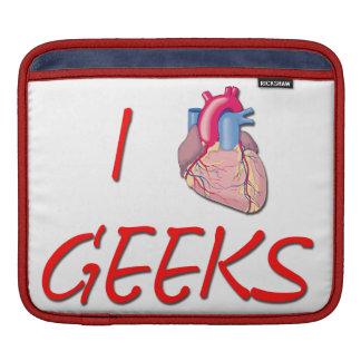 I Hart Geeks Sleeves For iPads