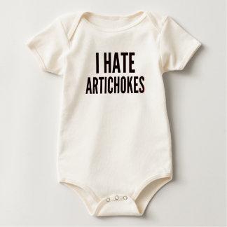 I Hate Artichokes Baby Bodysuit