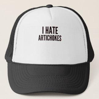 I Hate Artichokes Trucker Hat