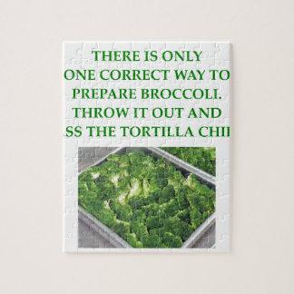 i hate broccoli jigsaw puzzle