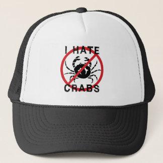 I Hate Crabs Trucker Hat