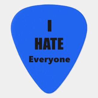 I Hate Everyone Guitar Pick